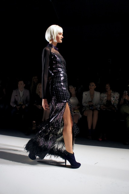 Falguni Shane NYFW Summer 2014 Runway Fashion  long dresses