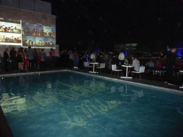 Grey Goose Le Melon Rooftop Party at Sixty Beverly Hills lounge