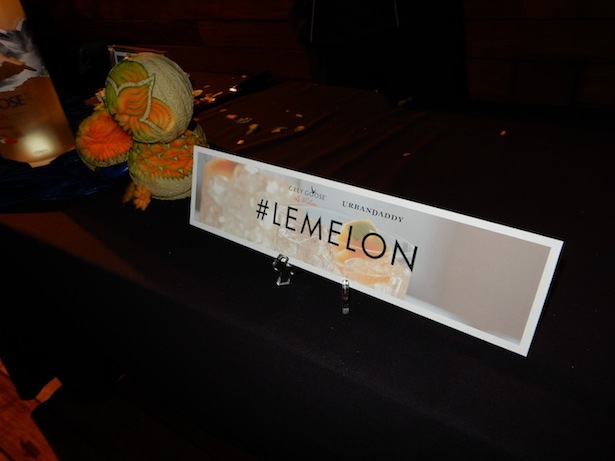 Lemelon hashtag at Grey Goose Party at Sixty Beverly Hills