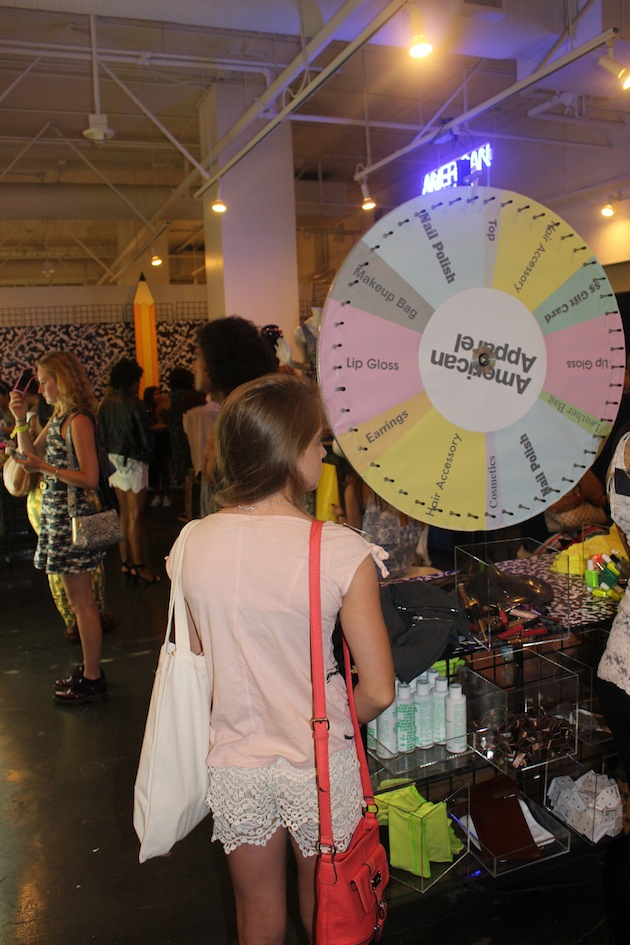 American Apparel Spin and Win Beautycon