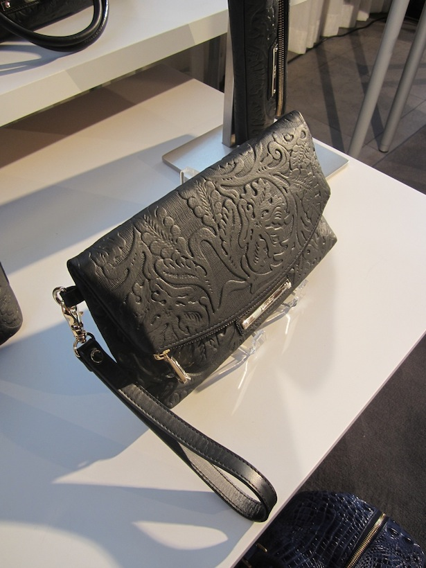 Brahmin Black Clutch Wearable Art