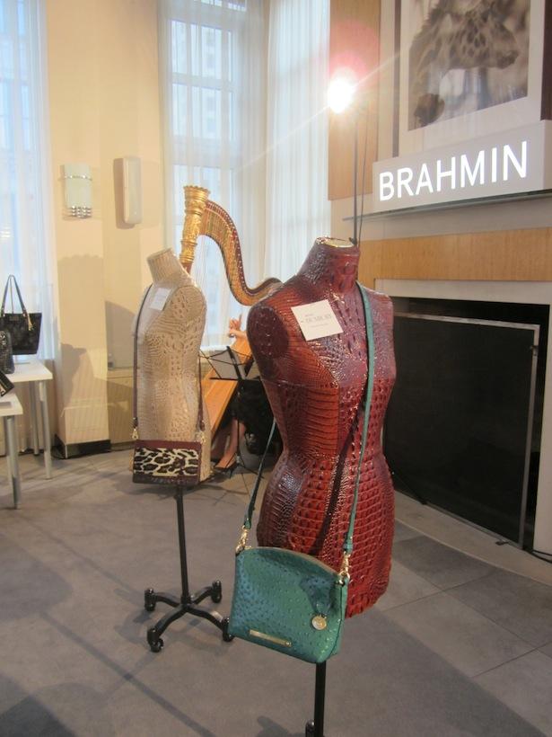 Brahmin Crossbody turquoise bag New York City