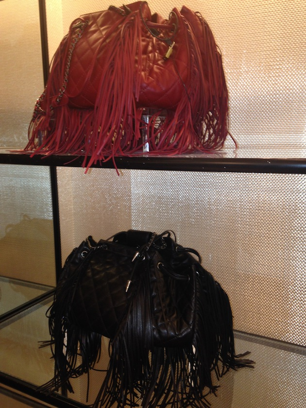 Chanel Fringe bag crush fall 2014