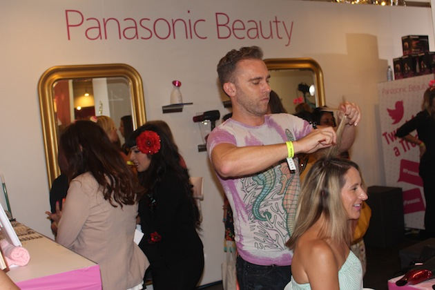 Panasonic Beauty at Beautycon in LA Ponytails