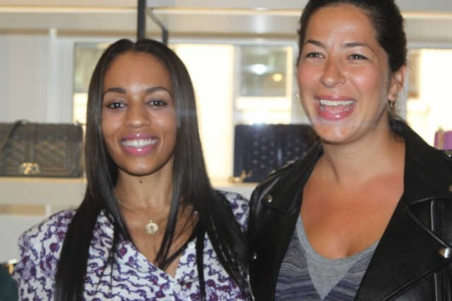 Rebecca Minkoff with Melyssa Ford at Event