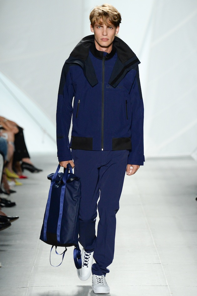 SS15 LACOSTE NYFS - LOOK 31 Fashion Week 2014 Lincoln Center