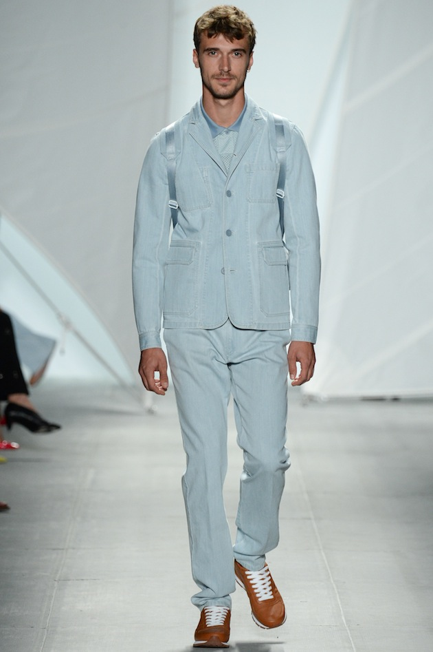 SS15 LACOSTE NYFS - LOOK 37 Mens Look Lacoste Fashion Week September 2014