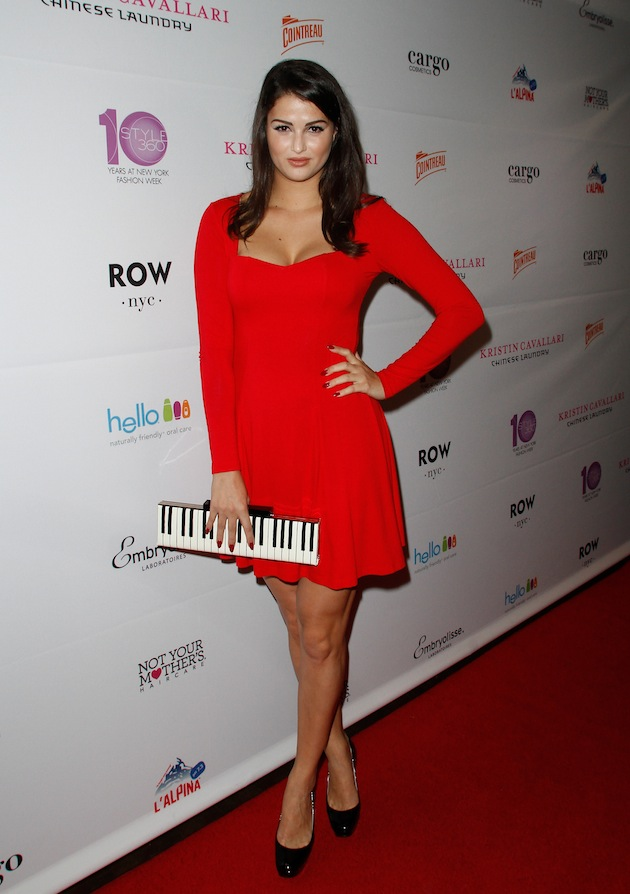Lily Lane attends Kristin Cavallari New York Fashion Week Party at The Row NYC Hotel