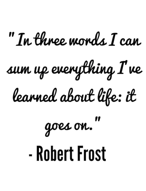 Daily Inspiration Robert Frost