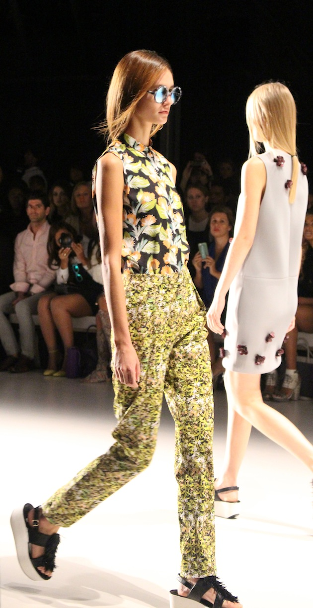 Noon By Noor Floral Pants and Colorful Runway Looks SS2015