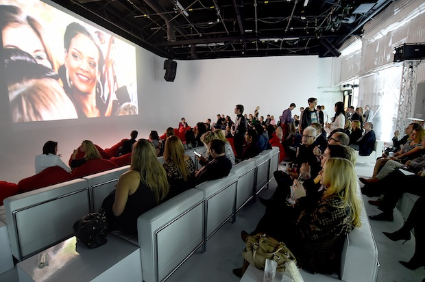 "A general view of atmosphere during MAC Cosmetics and MAC AIDS Fund World Premiere of ""It's Not Over"" Film directed by Andrew Jenks on November 18, 2014 in Los Angeles, California."