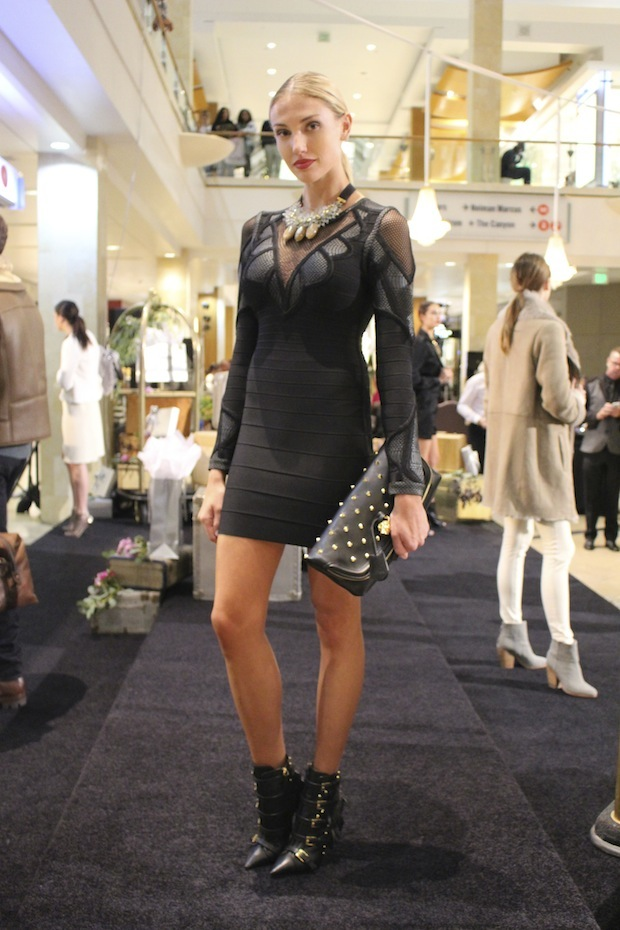 Cocktails and Couture Event at Westfield Topanga Mall