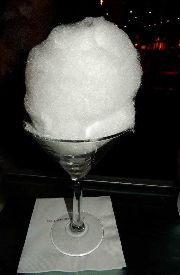 Cotton Candy Mojito The Bazaar SLS Hotel cotton candy drink ideas