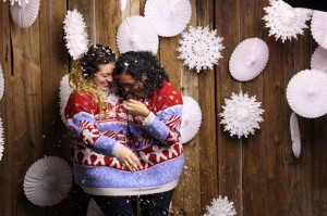 Holiday Love at Toms For Target Launch Party Shopping Party
