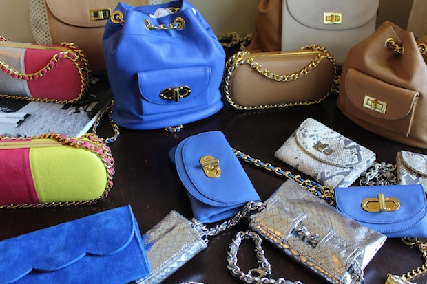 Kestral handbags Seventh House PR Press Preview Days 2014 Chateau Marmont Sunset