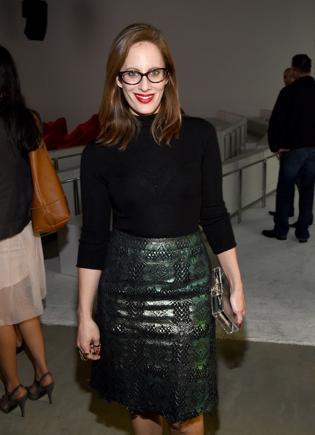 "Liz Goldwyn attends MAC Cosmetics and MAC AIDS Fund World Premiere of ""It's Not Over"" Film directed by Andrew Jenks on November 18, 2014 in Los Angeles, California"