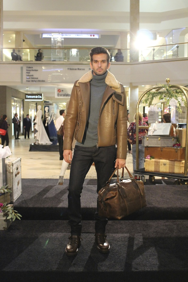 Male Model Westfield Topanga Mall Cocktails and Couture High Fashion Gucci Cartier