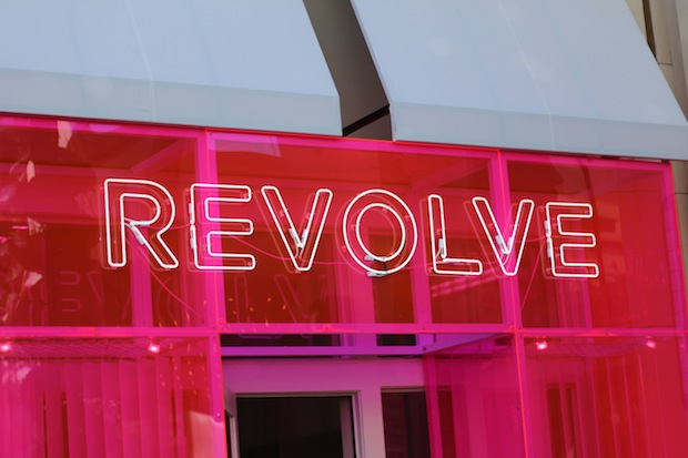 Revolve Pop Up Shop at The Grove Event With Chiara Ferragni The Blonde Salad West Hollywood