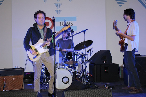 The Dawes Band Perform at The Toms For Target Launch Party Event in Culver City