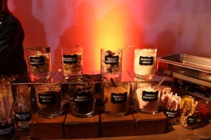 Toms For Target Kids Menu Hot Chocolate Caramel Apple All You Can Eat Dessert LA Events