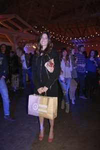 Toms For Target Shopping Launch Party in Los Angeles Happy Shopper for mankind