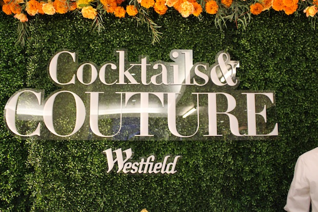 cocktails and Couture Westfield Topanga Mall Festivities holiday shopping blogger events