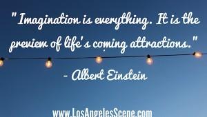 Daily Inspiration Albert Einstein on Attraction
