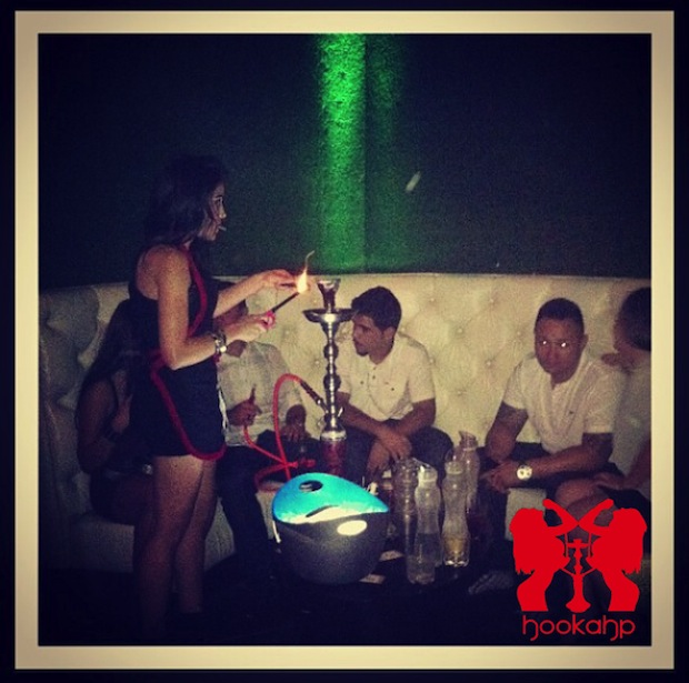 Hookah Table Service at Lure Nightclub LA