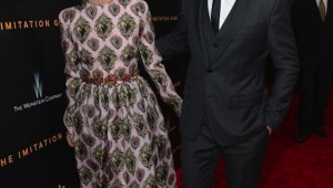 Keira Knightley and Benedict Cumberbatch attend premiere of The Imitation Game
