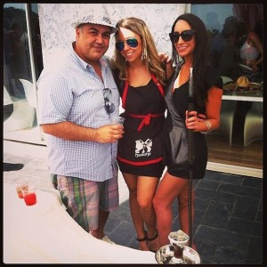 Olianna, the founder: owner of Hookahp and Sammy Younai (Shahs of Sunset) Hookah in LA mobile catering service