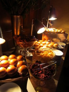 Delicious food at New York City Gala The New 42nd Street