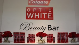 Golden Globes Colgate Optic White Beauty Bar at Chateau Marmont on Sunset
