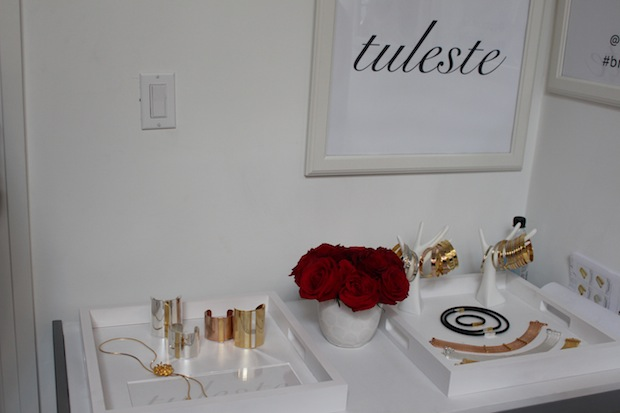 Tuleste Golden Globes Beauty Lounge Jewelry at Chateau Marmont