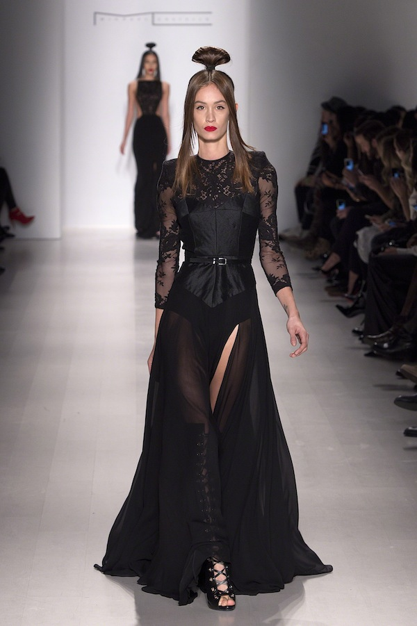 Michael Costello Evening dresses NYFW Runway Fashion