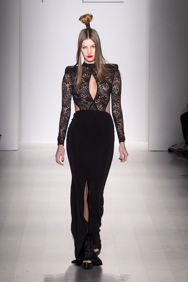 Michael Costello New York Fashion Week Runway Show 2015
