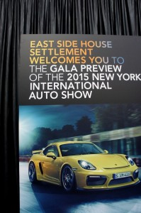 East Side House Settlement Gala 2015 New York International Auto Show