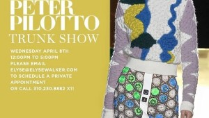 Elyse Walker Pacific Palisades Peter Pilotto Trunk Show