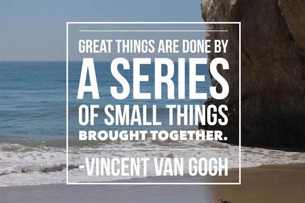 Quote by Vincent Van Gogh