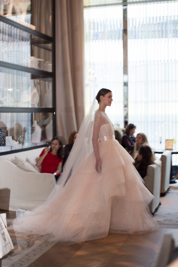 Monique Lhuillier Bridal Gown NY Bridal Week 2015