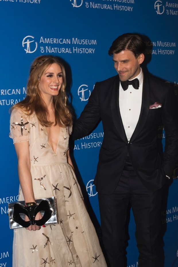 Olivia Palermo and Husband Johannes Hueble at American Museum of Natural History Event in New York