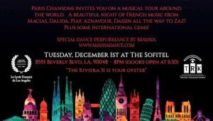 Paris Chansons Performs in LA at Sofitel Hotel Los Angeles