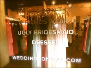 Bridal Shops in LA Robertson Blvd Wedding Style