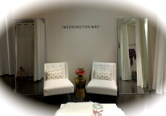 Weddinngton Way Bridal LA Shopping