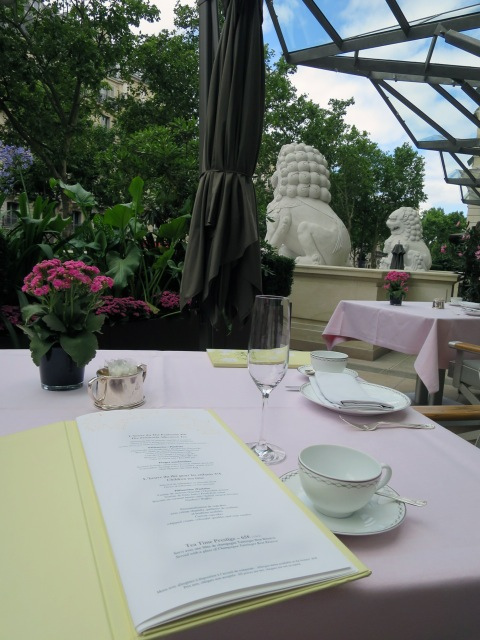 Peninsula Paris Hotel Tea Time Travel Paris