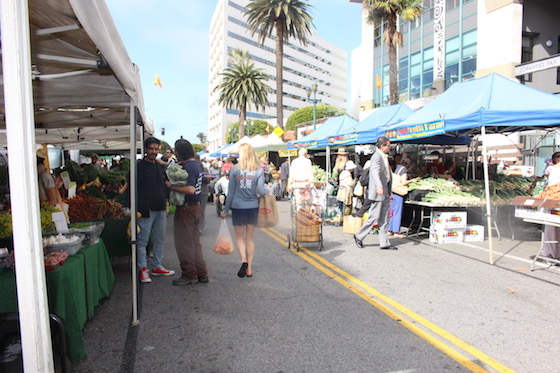 Santa Monica Farmers Market Fresh Food Produce Noelle Carter LA Food Bowl