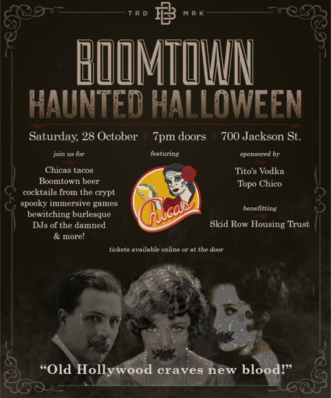 Boomtown Halloween Party in Downtown Los Angeles