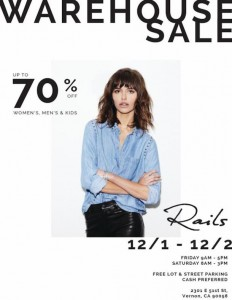 Rails Clothing Warehouse Sale