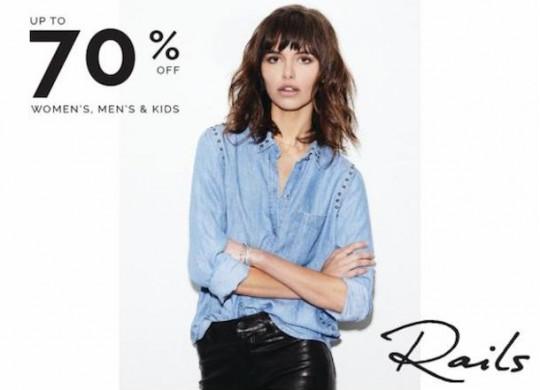 Rails Clothing Warehouse Sale