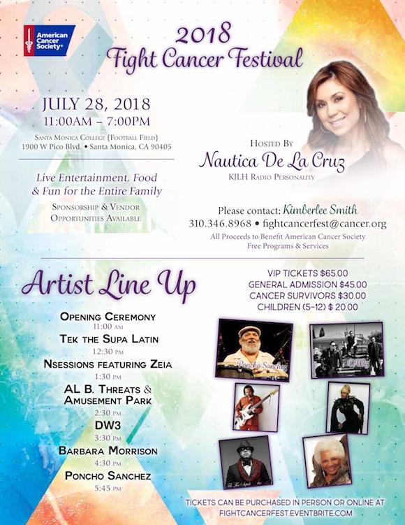 Fight Cancer Festival in Santa Monica 2018
