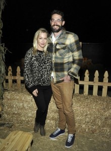 Jennie Garth and Dave Abrams ATtend NIghts of the Jack Night time Pumpkin Patch in LA